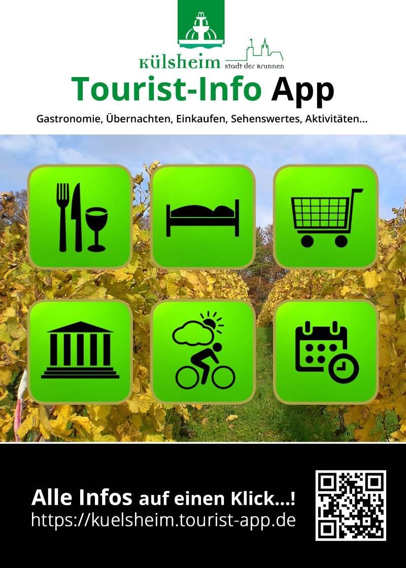 Tourist-Info App Werbeplakat